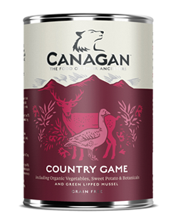Canagan Can COUNTRY GAME - dla psów -0,400kg