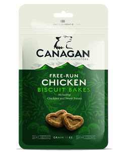 Canagan - CHICKEN BISCUIT BAKES - 150g