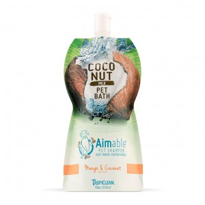 Tropiclean- Coconut Milk Pet Bath Mango and Coconut -szamponetka dla psów-355ml