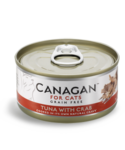 Canagan TUNA WITH CRAB 2 x 75g dla kota